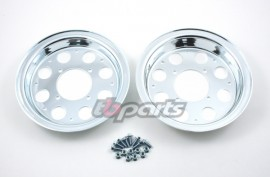 TB Parts Aluminium Rim Set - 3.50 x 8