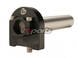 TB Black Billet Throttle - 1/4 Turn for 7/8 Handlebars