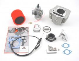 TB 141 Bore Kit & VM26 Carb Kit- 120cc Engines- Lifan/Imp Head [TBW9070]
