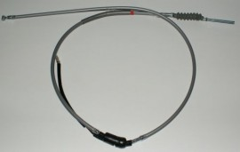 Aftermarket Rear Brake Cable in Grey with Switch for Z50A K0 - K2 (Australian)
