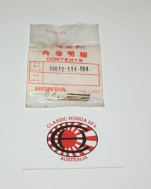 16012-114-004 Needle Jet Set