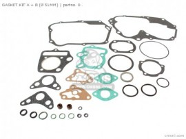 06112-RRP-810 51mm Complete Gasket Set