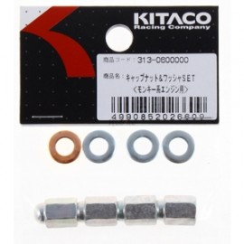 Kitaco Cap Nut and Washer Set - (313-0600000)