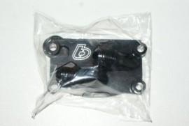 TB V2 Black Billet Oil Cooler Adaptor Cover [TBW0855]
