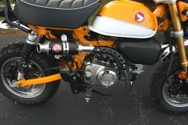 TB Monkey 125 Performance Exhaust 3 – Matte Black [TBW1461]