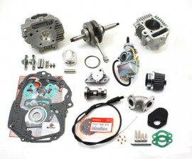 TB 108cc Stroker Crank with Race Head, Bore and 24mm Carb Kit [TBW9093]