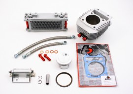 TB Parts Grom 186cc Big Bore and Oil Cooler Kit - Grom MX125 - [TBW9154]