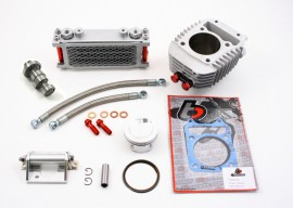 TB Parts Grom 186cc Big Bore, Oil Cooler and Performance Camshaft Kit - Grom MX125 - [TBW9183]